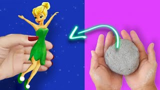 How To Make A Tinkerbell In Easy Way | Tinker Fairy DIY