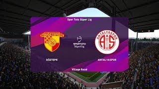 PES 2020   Goztepe vs Antalyaspor - Turkey Cup   22/01/2020   1080p 60FPS