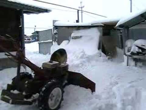 Снегоуборщик для мотоблоков Агро и Беларус