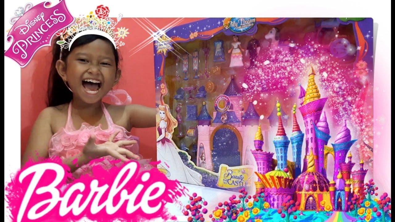 Mainan Istana Barbie Puteri Cantik Mainan Anak Perempuan