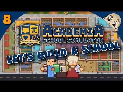 ACADEMIA: School Simulator - Ep. 8 - SOPHOMORE STUDENTS! - Prison Architect Style School Simulator