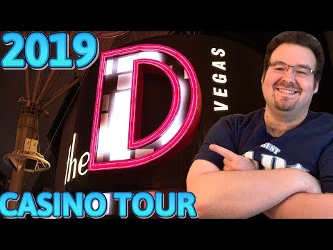 The D - Las Vegas - COMPLETE TOUR OF CASINO AND ROOM SUITE HOTEL 2019 REVIEW