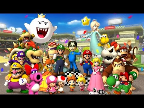 Mario Kart Wii - All Tracks 150cc (Full Race Gameplay)
