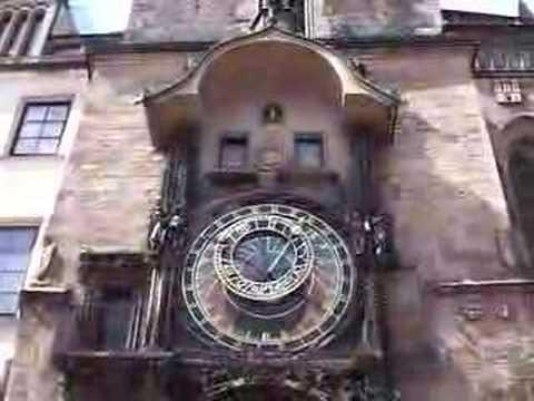 Astronomische Uhr in Prag um 15 Uhr