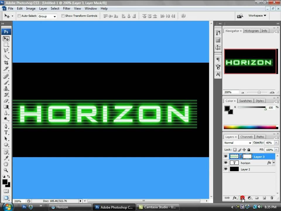 How To Make A Modern Warfare 2 Cod4 Style Logo Youtube