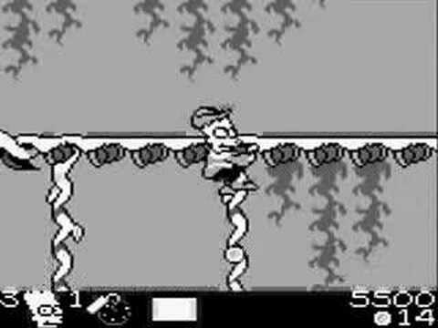 Old School Game Reviews: Bart And The Beanstalk