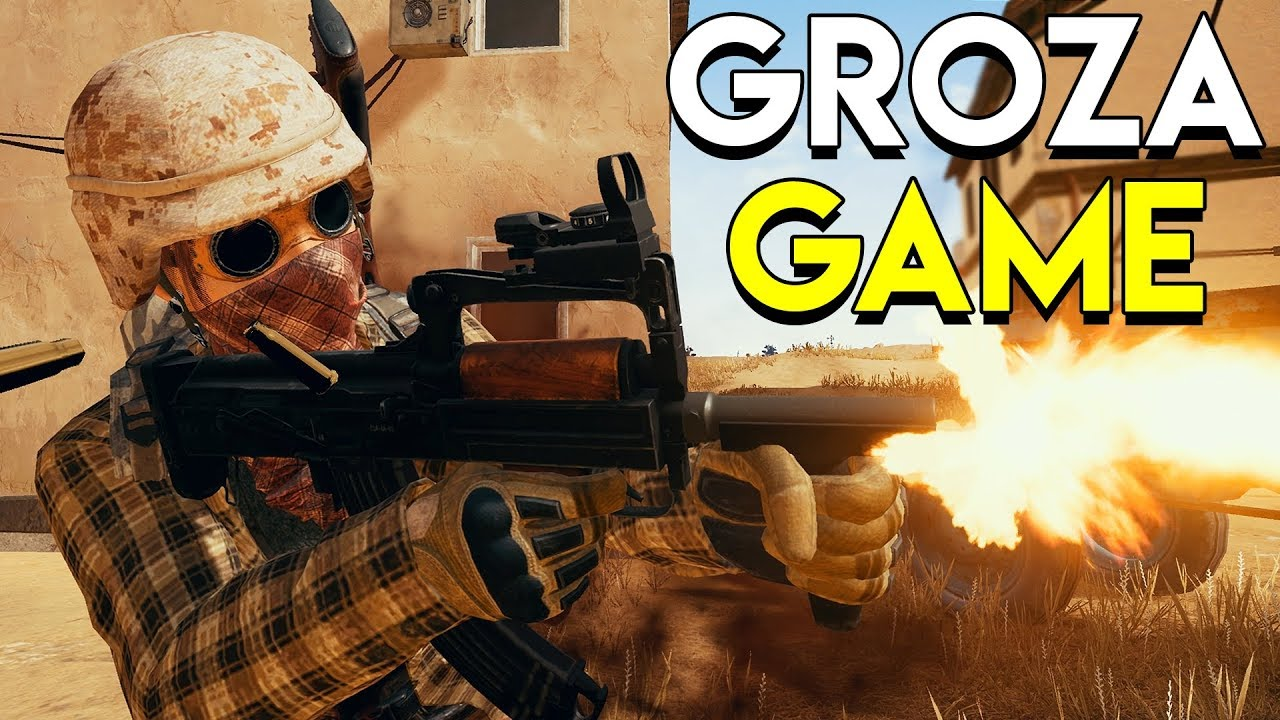 Groza Game Playerunknown S Battlegrounds Pubg Youtube