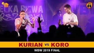 Koro  Kurian  WBW 2019 Finał (freestyle rap battle)