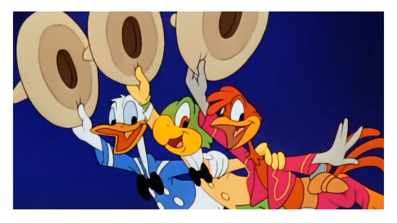 Download Panchito Pistoles introduction + Three Caballeros song [The Three Caballeros] (1944)