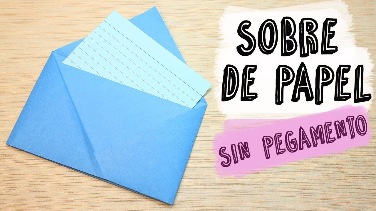 new arrivals best value to buy Cómo hacer un Sobre de Papel sin pegamento | Técnicas Origami