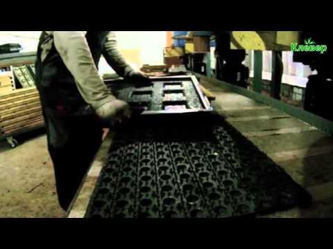 Презентация оборудования по производству резиновой плитки