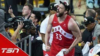 Gasol: I would never imagine this, this is the hardest thing I've ever done