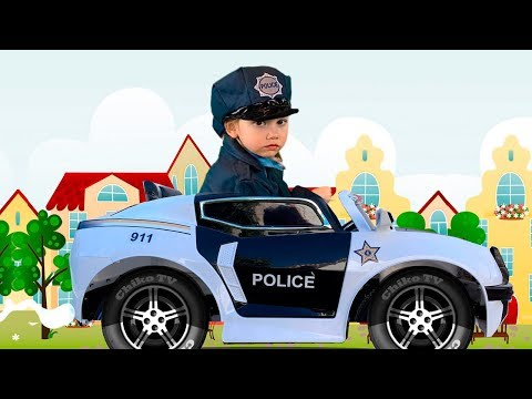Alena - Policeman  is looking for dolls
