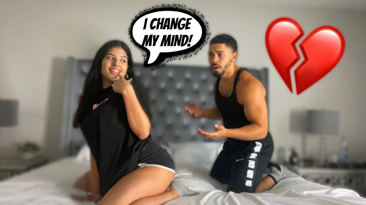 GETTING MY HUSBAND IN THE MOOD THEN CHANGING MIND!! *HILARIOUS*