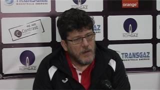 Cristian Pustai dupa Gaz Metan CS U Craiova 2-2 | novatv.ro