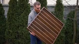 видео Купить забор из евроштакетника под дерево для дачи под ключ недорого