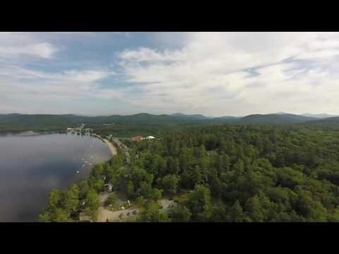 Lake Pleasant, NY (Speculator) Morning Flight Over Lake