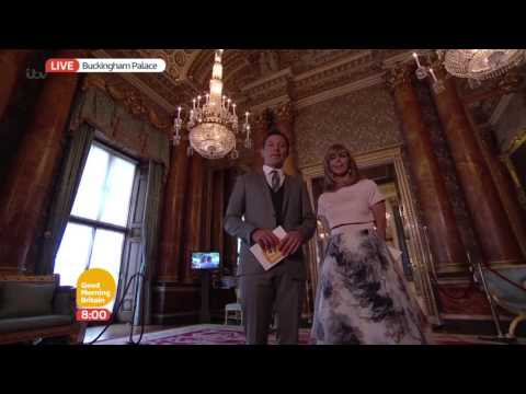 The Blue Drawing Room - Inside Buckingham Palace | Good Morning Britain