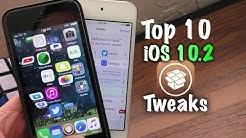 Top 10 Free Cydia Tweaks after iOS 10.2 Jailbreak