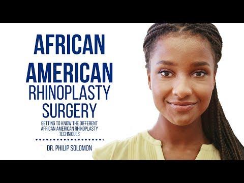 African American Rhinoplasty Surgery   Dr. Philip Solomon