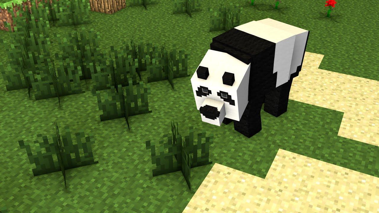 Minecraft Panda Rig For Cinema 4d Demonstration