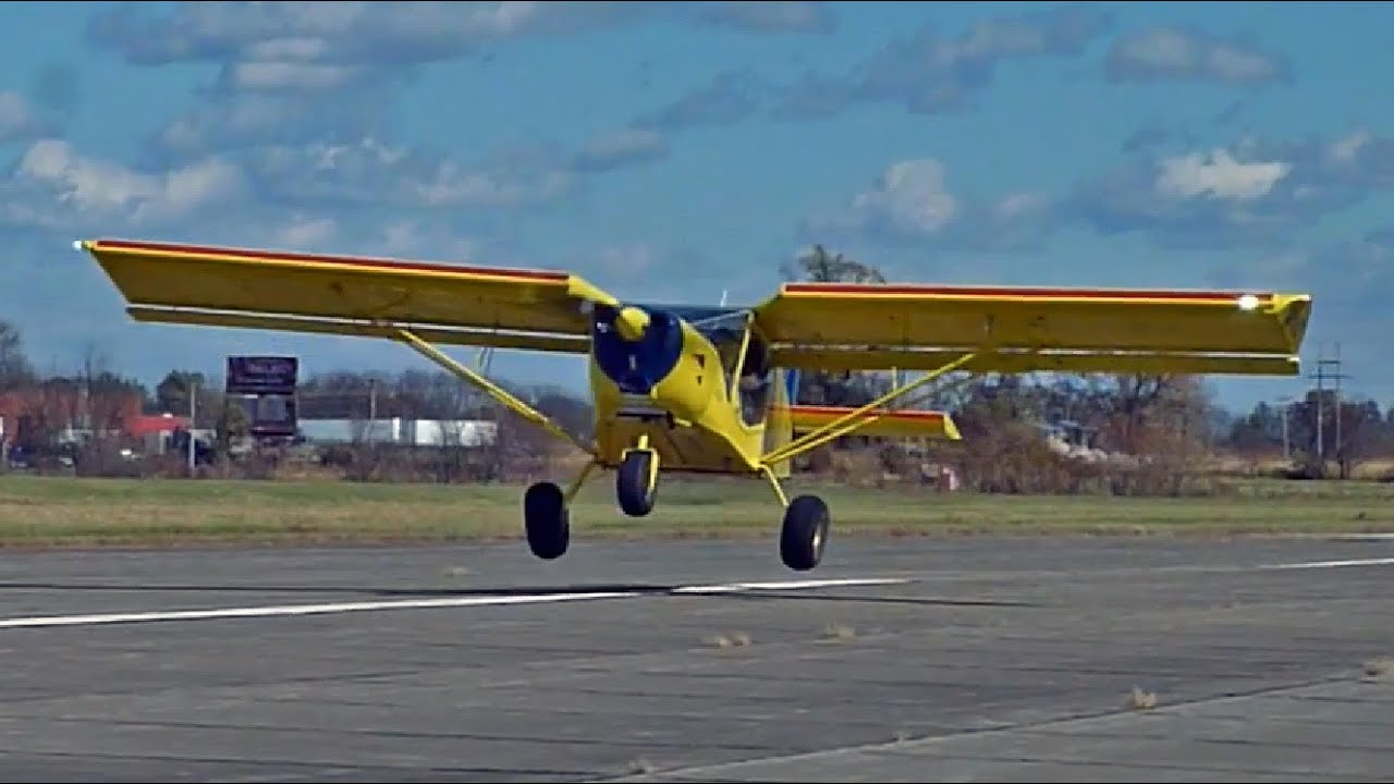 Very short take off and landing with Zenith's STOL CH 750 ...