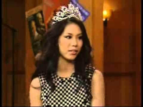 Riyo Mori - Miss Universe 2007 in Regis & Kelly Part-2 ( Official Riyo Mori Lovers ) HD