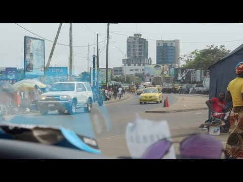 Driving through Monrovia, Liberia part 1| December 2018 | SheaMoringaTV
