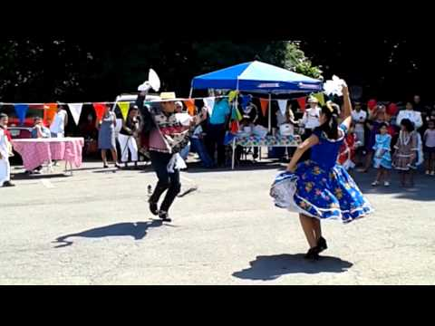 Cueca dance from Chile