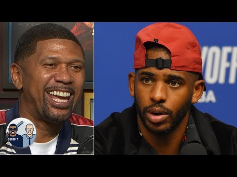 Why doesn't Chris Paul like people touching his head? Jalen Rose may have an answer | Jalen & Jacoby