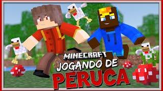 HARDCORE GAMES - JOGANDO DE PERUCA! (Ft.FLAPLAYS)