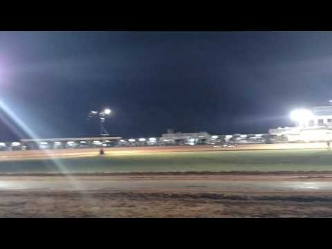 TriState RedPlate/Peewee Race at Moore's Paradise Speedway. JT Burns gets second place!