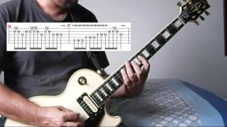 Accept - Princess of the Dawn ( guitar cover with tabs)