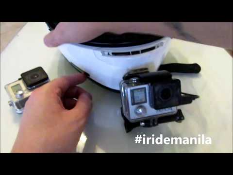 I RIDE MANILA GOPRO SET UP (motovlogger in philippines )