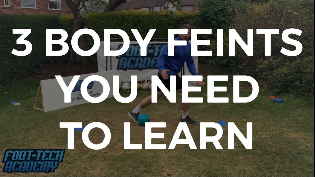 3 Body Feints You Need To Learn ⚽️