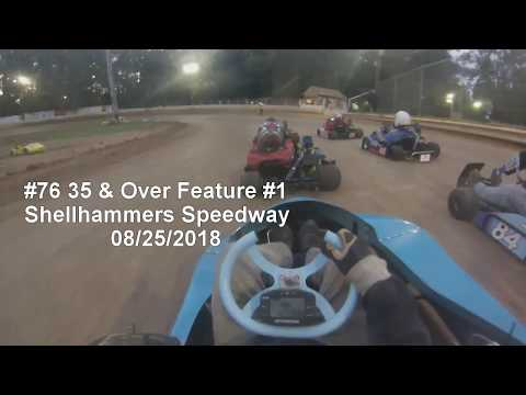 35 & Over Flathead Feature Race #1 Shellhammers Speedway 08/25/2018