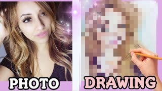 Transform MYSELF into a DRAWING!