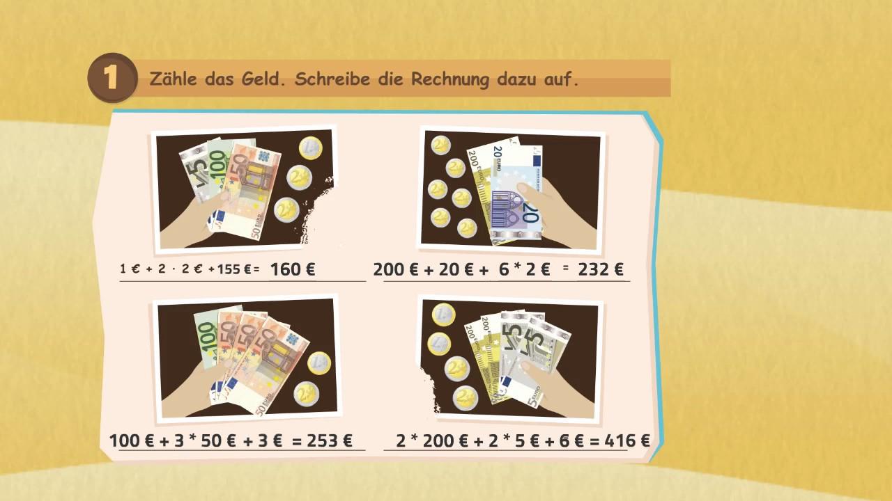 Geld kennenlernen klasse 1