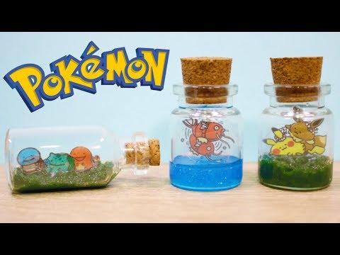 Pokemon x Kanahei Bottle Charm ft. PolymomoTea | UV Resin DIY