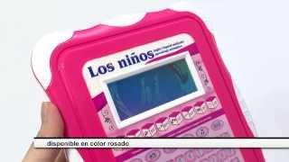 Tablet Pc De Juguete Pantalla A Color Para Niñas Bilingue 70 Actividades Español E Ingles Youtube