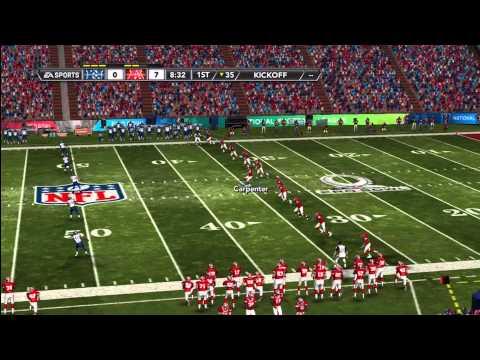 2013 Pro Bowl - 1 of 1 (Madden 12 Franchise Mode)
