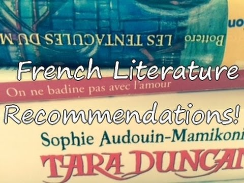 French Literature Recommendations!