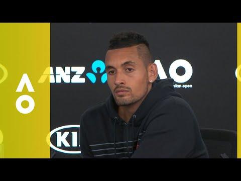Nick Kyrgios press conference (2R)   Australian Open 2018