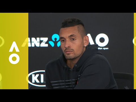 Nick Kyrgios press conference (2R) | Australian Open 2018