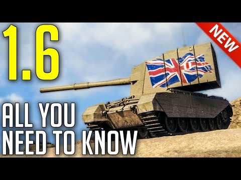 Everything NEW With Update 1.6 ► World Of Tanks Update 1.6 Patch Review