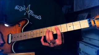 Judas Priest - Hell Bent For Leather - Guitar Lesson