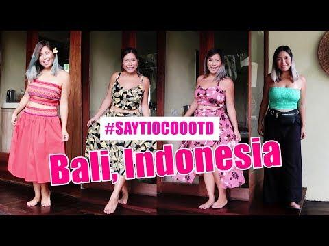 OOTD VIDEO DIARY: UBUD, BALI 2018 - saytioco