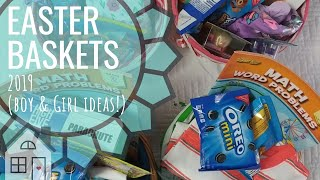 HAUL: What's in my Kid's Easter Baskets | What I got my kids for Easter | Easter Baskets 2019 |