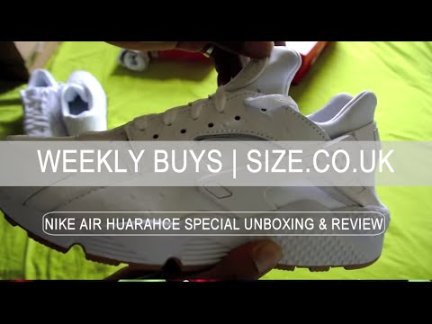 Nike Air MAX 90s & Huarache REVIEW | WHITE GUM PACK | SIZE.CO.UK ...