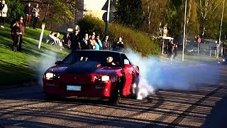 Chevy Camaro 383 Stroker Sounds & Burnouts